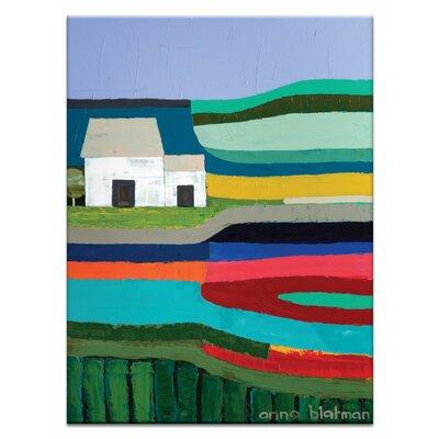 Artist Lane Port Ferry by Anna Blatman Art Print on Canvas