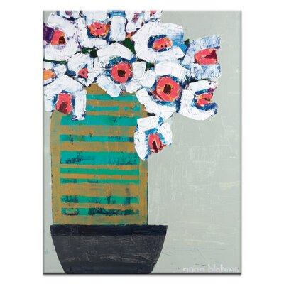 Artist Lane Wedding Poppies by Anna Blatman Art Print on Canvas
