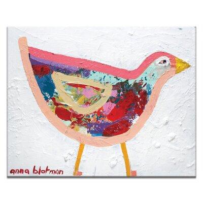Artist Lane Alan by Anna Blatman Art Print on Canvas