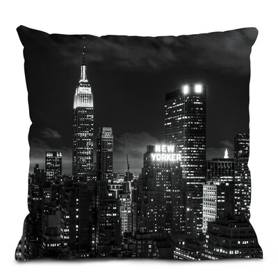 Artist Lane Monochrome City Cushion Cover