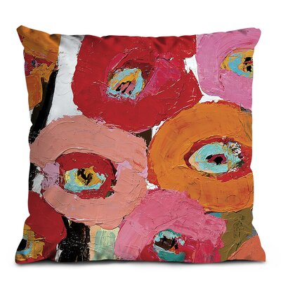 Artist Lane Brown Stemmed Poppies Scatter Cushion
