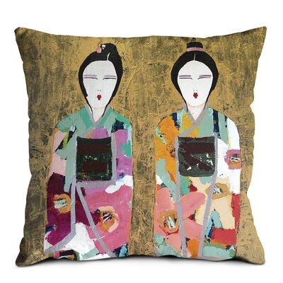 Artist Lane Gold Geisha Scatter Cushion