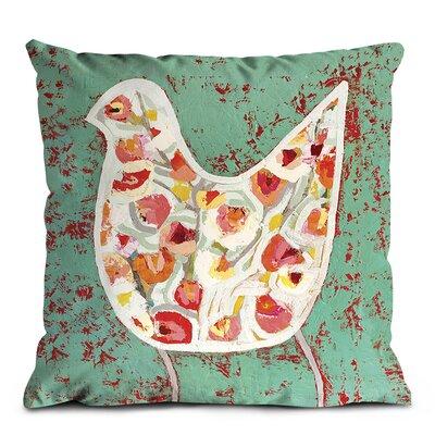 Artist Lane Flower Bird Cushion Cover