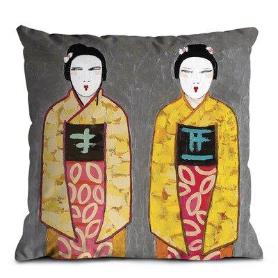 Artist Lane Sun Rise Geisha Scatter Cushion