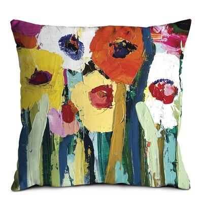 Artist Lane Rainbow Garden Scatter Cushion