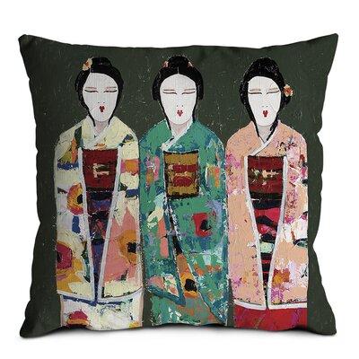 Artist Lane Spring Geisha Cushion Cover