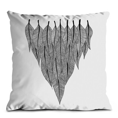 Artist Lane Feather Shield Scatter Cushion