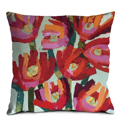 Artist Lane Flowers Bird Cushion Cover