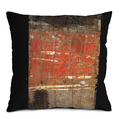 Artist Lane Red Shield Scatter Cushion