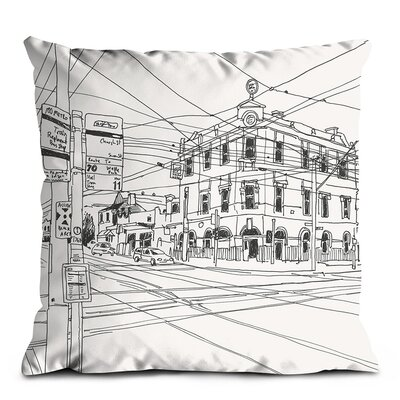 Artist Lane Swan Street Scatter Cushion