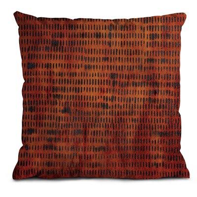 Artist Lane Burnt Orange Grid Scatter Cushion