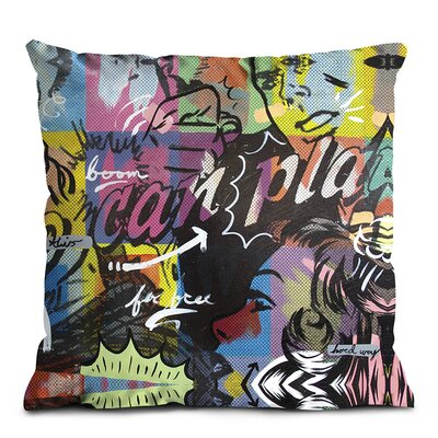 Artist Lane Two Can Play Cushion Cover