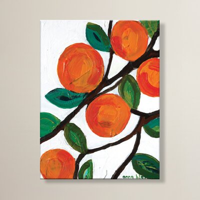 Artist Lane Olive 1 by Anna Blatman Art Print Wrapped on Canvas