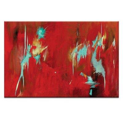 Artist Lane 'Bird of Paridise' by Lou Sheldon Framed Art Print on Wrapped Canvas