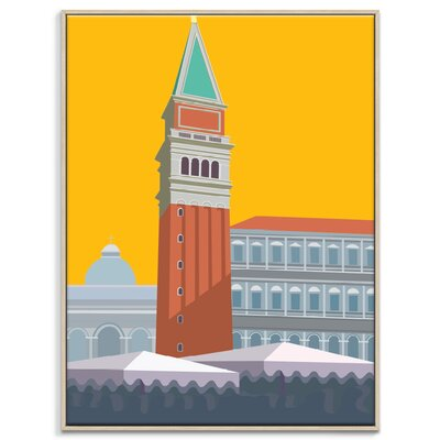 Artist Lane 'Piazza San Marco' by Alan Annells Graphic Art Wrapped on Canvas