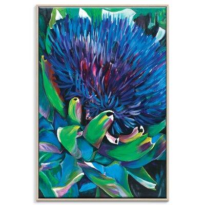 Artist Lane 'Artichoke' by Shani Alexander Framed Art Print on Wrapped Canvas
