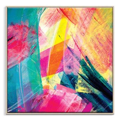 Artist Lane 'Springlayers 2' by Sabina Klein Framed Art Print on Wrapped Canvas