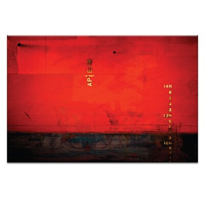 Artist Lane '14m Watermark' by Bente Andermahr Graphic Art Wrapped on Canvas