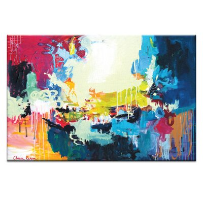 Artist Lane 'Chemistry' by Amira Rahim Art Print on Wrapped Canvas