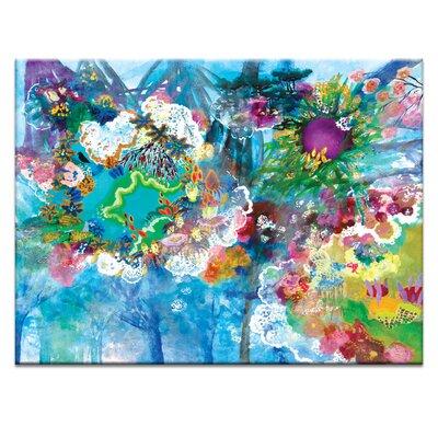 Artist Lane '36 Degrees' by Lia Porto Art Print on Wrapped Canvas