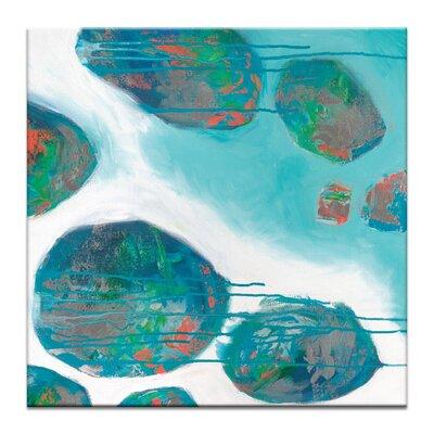Artist Lane 'Back Beach 2' by Sherren Comensoli Art Print on Wrapped Canvas