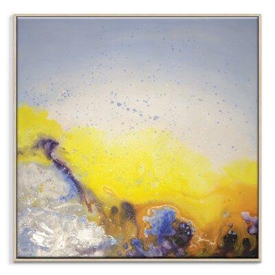 Artist Lane 'Spring Rain' by Jennifer Webb Framed Art Print on Wrapped Canvas