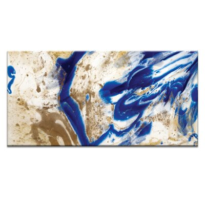 Artist Lane 'I Did Go Indigo' by Olivia Collins Art Print on Wrapped Canvas