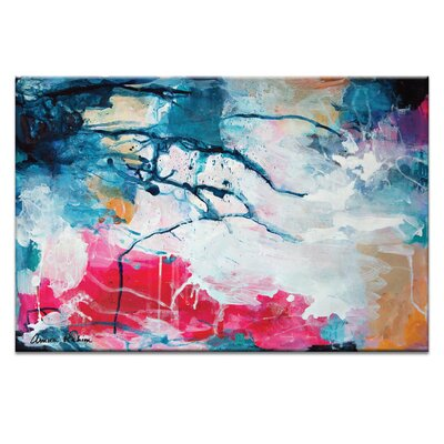Artist Lane 'I feel it all' by Amira Rahim Art Print on Wrapped Canvas