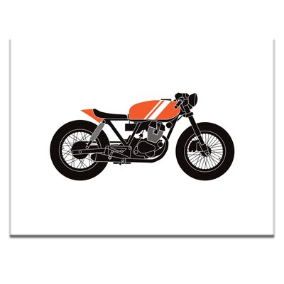 Artist Lane 'cafe racer 1' by Ayarti Graphic Art on Wrapped Canvas