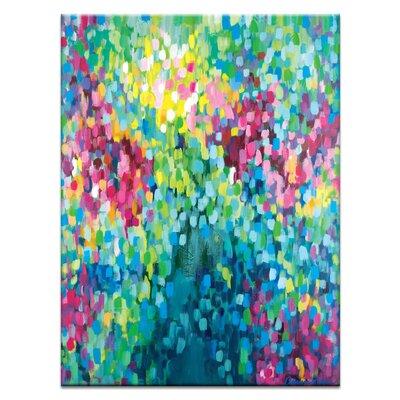 Artist Lane 'Samba Em Salvador' by Amira Rahim Art Print on Wrapped Canvas