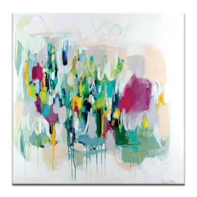 Artist Lane 'Memphis' by Amira Rahim Art Print on Wrapped Canvas