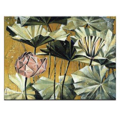 Artist Lane 'Golden Swamp' by Olena Kosenko Graphic Art on Wrapped Canvas