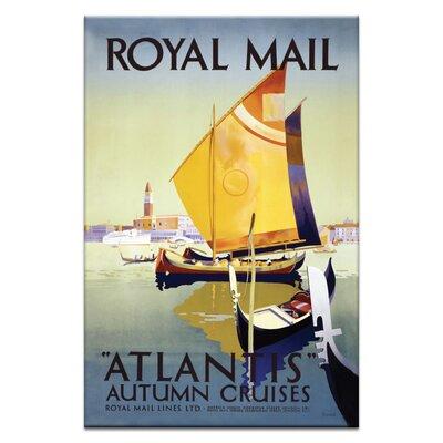 Artist Lane Royal Mail' Vintage Advertisement Unwrapped on Canvas