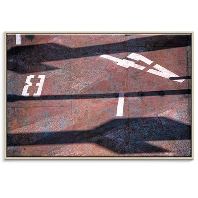 Artist Lane 'B4' by Bente Andermahr Framed Photographic Print on Wrapped Canvas