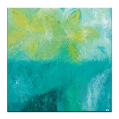 Artist Lane 'Radiant Frangipani' by Josie Nobile Art Print Wrapped on Canvas