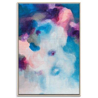 Artist Lane '21015' by Amanda Morie Art Print Wrapped on Canvas