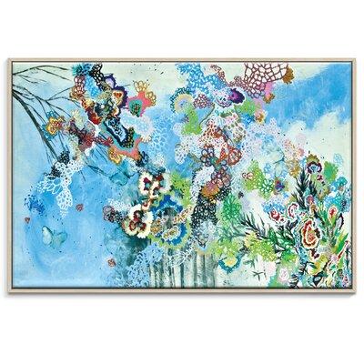 Artist Lane 'Esos hueco' by Lia Porto Art Print Wrapped on Canvas