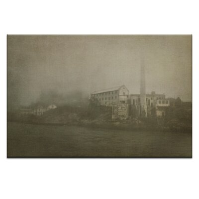 Artist Lane 'Alcatraz Approaching' by Andrew Paranavitana Photographic Print on Wrapped Canvas