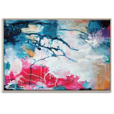 Artist Lane 'I Feel it All' by Amira Rahim Framed Art Print on Wrapped Canvas