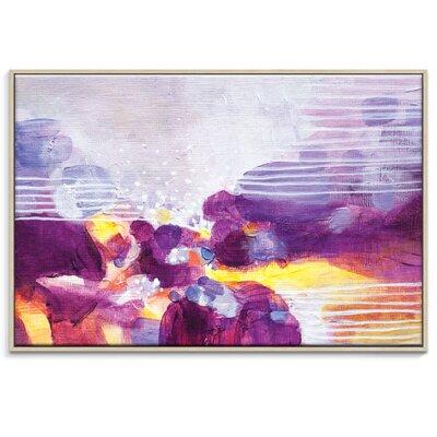 Artist Lane '31315' by Amanda Morie Framed Art Print on Wrapped Canvas