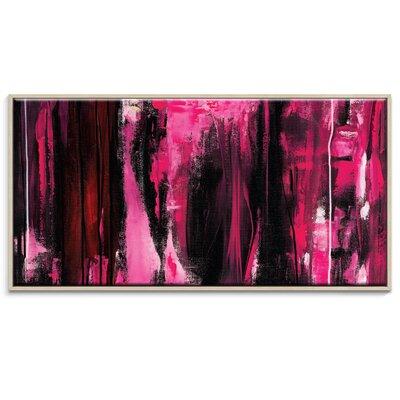 Artist Lane 'Entranzic Calm' by Rebecca Vincent Framed Art Print on Wrapped Canvas