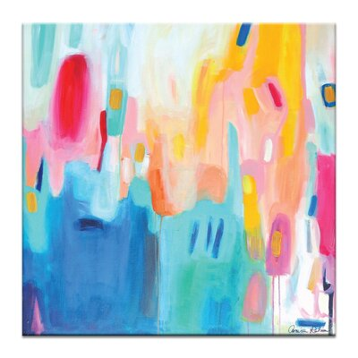Artist Lane 'Airport Road' by Amira Rahim Art Print on Wrapped Canvas