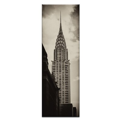 Artist Lane 'Chrysler' by Andrew Paranavitana Photographic Print on Wrapped Canvas