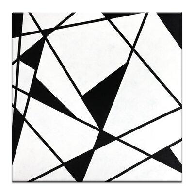 Artist Lane 'Geometric 9' by Chalie MacRae Art Print on Wrapped Canvas