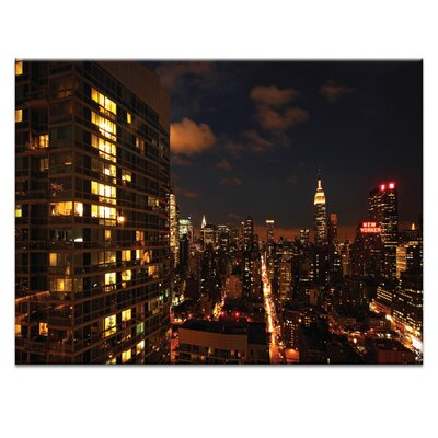 Artist Lane 'City Living' by Andrew Paranavitana Photographic Print on Wrapped Canvas