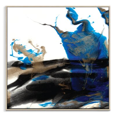 Artist Lane 'Stillness' by Olivia Collins Framed Art Print on Wrapped Canvas