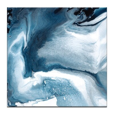 Artist Lane 'Flow 12' by Chalie MacRae Art Print on Wrapped Canvas