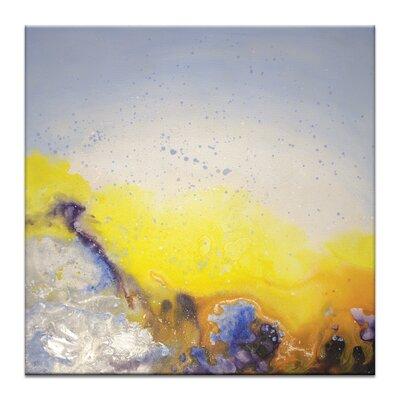 Artist Lane 'Spring Rain' by Jennifer Webb Art Print on Wrapped Canvas