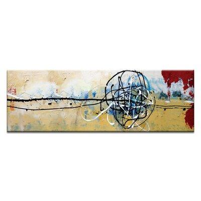 Artist Lane 'Chemistry art boards' by Julia Ahmad Art Print on Wrapped Canvas