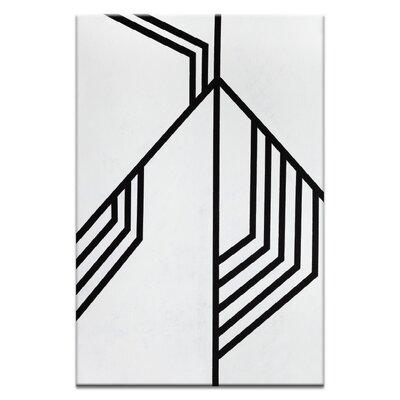Artist Lane 'Geometric 12' by Chalie MacRae Art Print on Wrapped Canvas